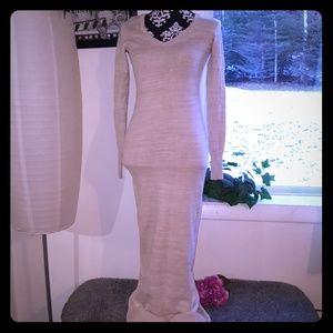 Victoria's Secret Dresses - Victoria's Secret bodycon sweater dress